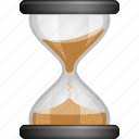 hourglass, patience, sand, system, time, waiting icon
