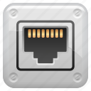 network, network plug, plug, system icon