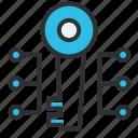 key, key protection, malware, network, system icon