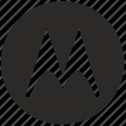 brand, idendity, logo, m, mobile, moto, motorolla icon