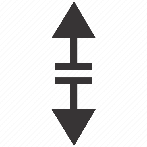 arrow, arrows, down, move, navigation, up, vertical icon