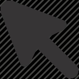arrow, click, cursor, interactive, mouse, point, pointer icon