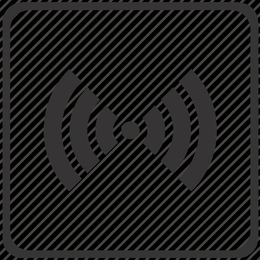 communication, network, radio, signal, wifi, wireless icon