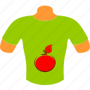 apple, body, clothes, mannequin, shirt, sport, t-shirt icon