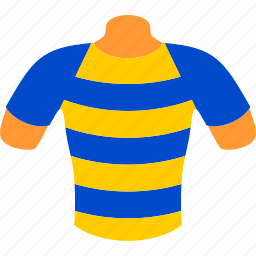 body, clothing, mannequin, shirt, sport, striped, t-shirt icon