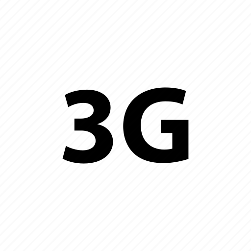 3g, cell, communication, connection, mobile, network, standard icon