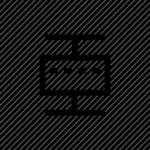 box, boxplot, chart, diagram, plan, plot, scheme icon
