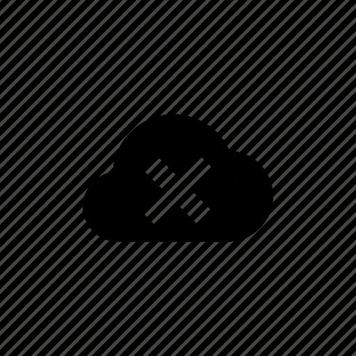 close, cloud, delete, destroy, kill, remove, trash icon