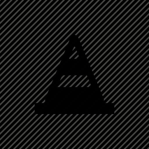accident, cone, fence, forbidden, limitation, traffic, warning symbol icon