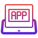 app, application, internet, tablet, technology, ui, website icon
