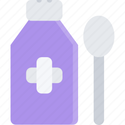 clinic, doctor, hospital, mixture, treatment icon
