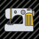dressmaking, equipment, machine, sew, sewing, tailoring, tool icon