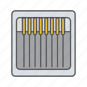 kit, needle, pack, sewing, tailoring, thread, tool icon