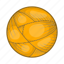 ball, cartoon, craft, knitting, style, wool, yarn icon