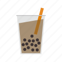 beverage, bubble, drink, tea icon