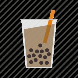 beverage, bubble, drink, tea icon