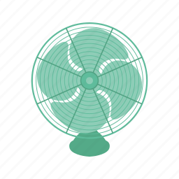 electric, fan icon