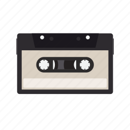 audiotape, magnetic, tape icon