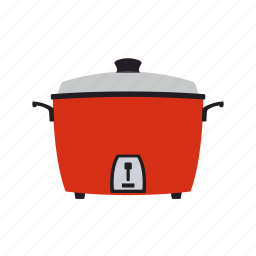 cooker, steam icon