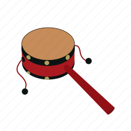 drum, tambourine icon