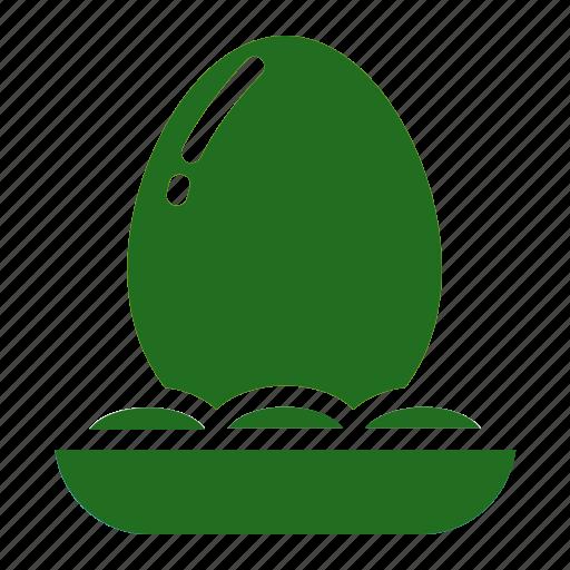 egg, golden, lucky icon