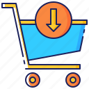 shopping, now, purchase, buy, transaction, cart, shop icon