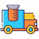 business, capacity, commerce, delivery, shipping, supply, truck icon