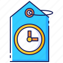 deals, discount, offer, promotion, sale, temporary, timed icon