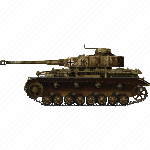 army, miltiary, panzer, tank, vehicle, war icon