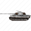 army, miltiary, panzer, vehicle, vi, war icon
