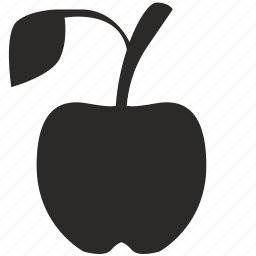 apple, eat, food, fruit, tasty icon