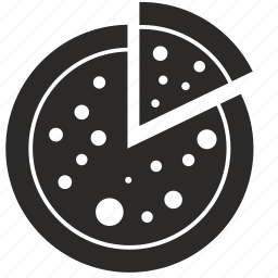 cake, eat, food, pie, piece, pizza icon
