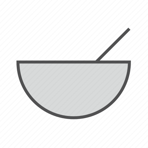 bowl, dinner, eat, food, kitchen, soup, spoon icon