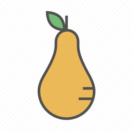 fresh, fruit, healthy, pear, summer, tasty icon