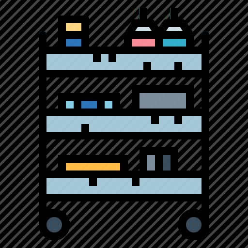 box, cart, shop, store icon