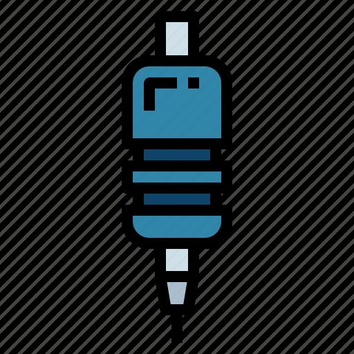 grip, ink, machine, tattoo icon