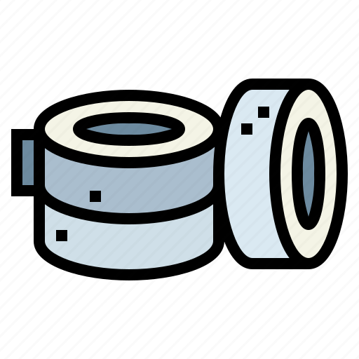 adhesives, material, office, tape, tools icon