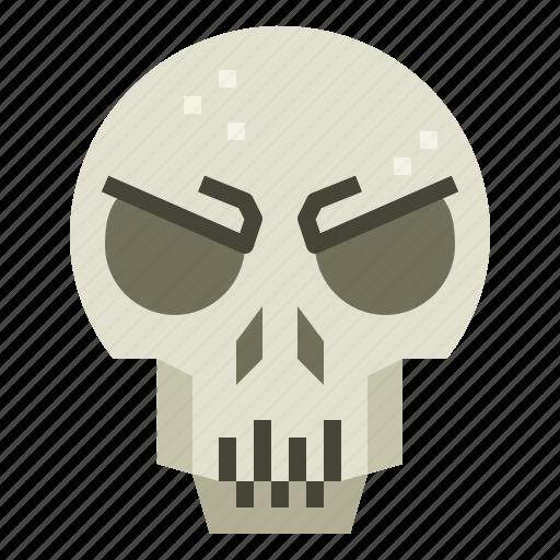anatomy, dead, halloween, skull icon