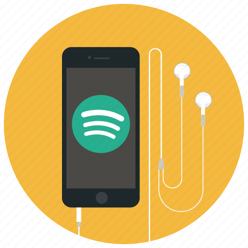 audio, iphone, music, player, song, sound, spotify icon
