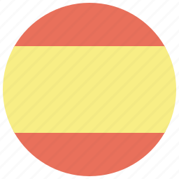 country, flag, national, spain, spanish, travel, world icon