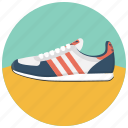 adidas, footwear, running, shoe, sneaker, sports, walking icon