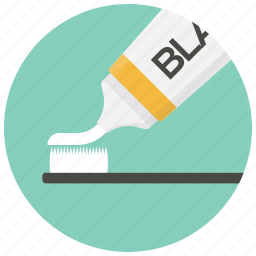 clean teeth, dental, dental care, healthcare, hygiene, toothbrush, toothpaste icon