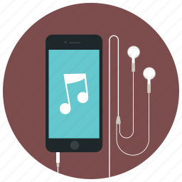 audio, iphone, music, play, player, song, sound icon