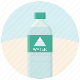 beverage, bottle, drink, drinking, sparkling water, water, water bottle icon