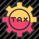 gear, business, options, setting, tax, cog