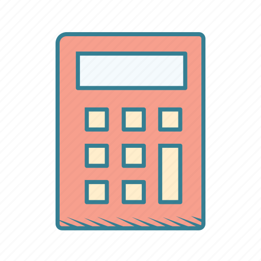 accounting, business, calculator, finances, math, office, taxes icon