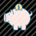 budget, debt, savings, financial planning, retirement, tax refund, piggy bank, rainy day fund