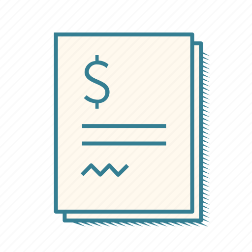 bill, finances, financial, financial statement, invoice, profit and loss, taxes icon