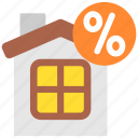 discount, finance, money, property, realty, sale, taxes icon
