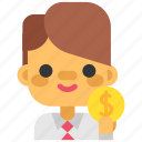 bank, coin, duti, finance, money, payment, taxes icon